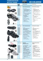 FAHRRADSCHUHE BICYCLE SHOES - Olympique cycles
