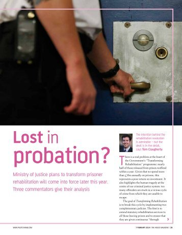 Policy Review – Probation