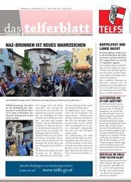 Telferblatt 213 vom 31.05.13 - Marktgemeinde Telfs