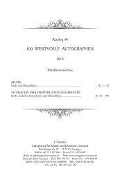 PDF-Datei - J. Voerster | Antiquariat für Musik und Deutsche Literatur