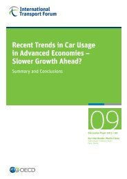 Recent Trends in Car Usage in Advanced Economies – Slower Growth ...