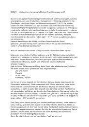 SCRUM – erfolgreiches (wissenschaftliches) Projektmanagement ...