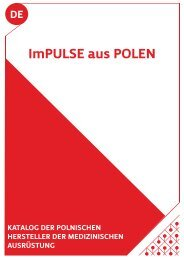Katalog polnischer Medizintechnikhersteller - NRW.Europa