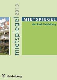 Mietspiegel-Broschüre - Stadt Heidelberg