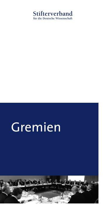 PDF-Download - Stifterverband für die Deutsche Wissenschaft