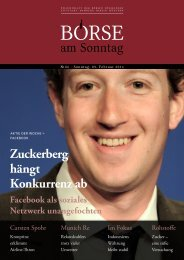 Download PDF - BÖRSE am Sonntag