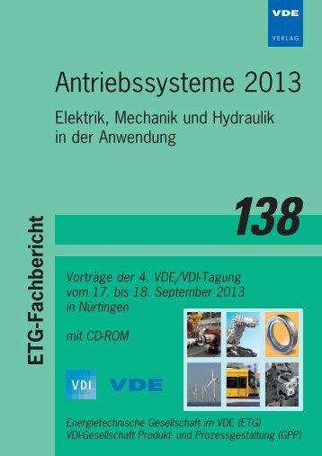 ETG-FB 138 Titelbogen.indd - Home - Institut für Elektrische ...