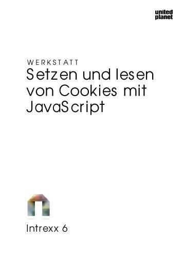 Intrexx Werkstatt - Setzen und Lesen von Cookies mit JavaScript