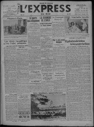 13 avril 1936 - Presse régionale