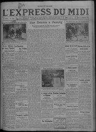 20 décembre 1932 - Presse régionale