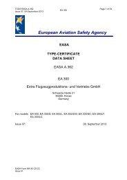 A.362 EA300 series - EASA