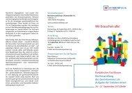 Fachforum Gemeinwesenorientierte Soziale Arbeit - parisax.de