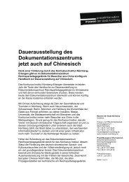 Pressetext - Museen der Stadt Nürnberg