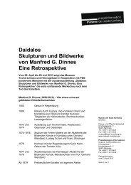 Daidalos. Skulpturen und Bildwerke von Manfred G. Dinnes. Eine ...