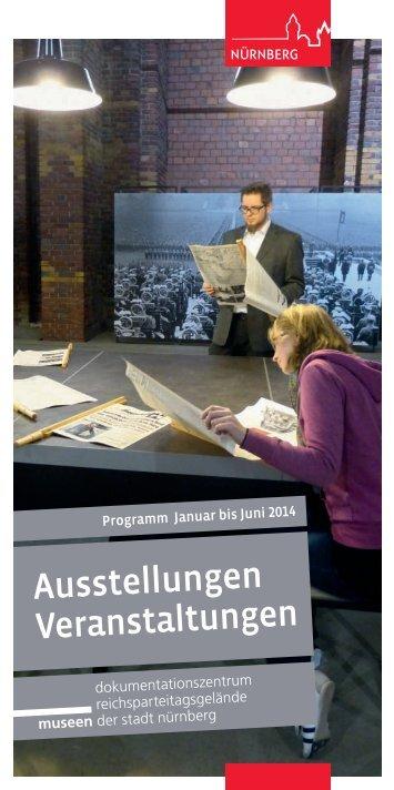 Veranstaltungsprogramm 1. Halbjahr 2014 - Museen der Stadt ...