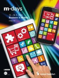 M-Days_Sales_Broschüre_d (PDF) - Messe Frankfurt