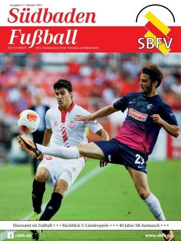 Ausgabe 5 | Oktober 2013 - SBFV