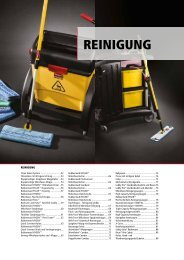 REINIGUNG - Rubbermaid Commercial Products