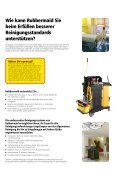 REINIGUNG - Rubbermaid Commercial Products - Page 2