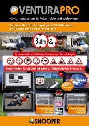 Navigationssystem für Reisemobile und Wohnwagen über12 500