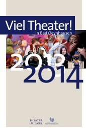 Download Programm TiP 2013/2014 - Bad Oeynhausen