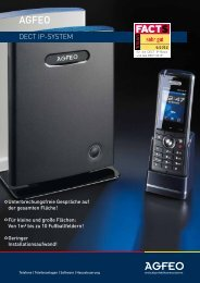DECT IP-SySTEm - Agfeo