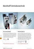 Antriebstechnik - download - Beckhoff - Page 5