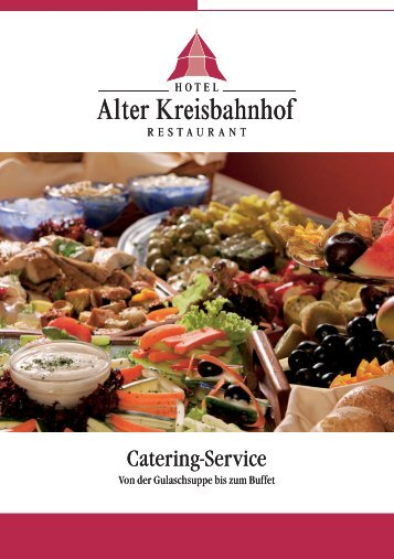 Catering-Service Catering-Service - NGD - Gruppe Norddeutsche ...
