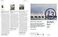 BAUNETZ SAIL 2013 – Architekten segeln Vom 6. bis 8 ... - Bauwelt