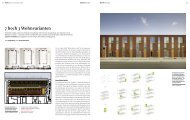 7 hoch 3 Wohnvarianten - Bauwelt