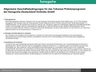 Juli 2013 (PDF, 0,1 MB) - Hansgrohe