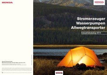 Industrie Katalog 2014 (PDF, 5.4 MB) - Honda