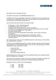 Download Regularien und Einschreibeformular DMSB ... - Honda