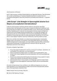 Ausschreibung (PDF-Datei, 94 kB - Die Linke