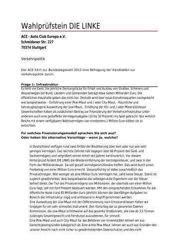 Antwort (PDF) - Die Linke
