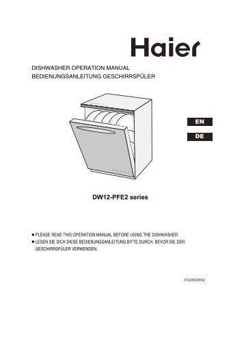 DW12-PFE2 series - Haier