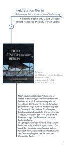 September 2013 - Berliner Unterwelten eV - Page 3