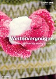 Schneefräsen-Programm 2013/2014 (PDF, 16.9 MB) - Honda