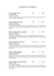 Weinkarte Herbst 2013 - STA Pages