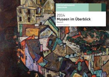 2014 Museen im Überblick - Universalmuseum Joanneum