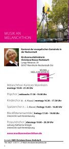 Download (PDF) - Christuskirche Mannheim - Seite 6