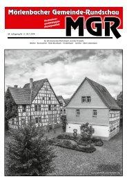 Aktuelle Ausgabe (3) als PDF zum lesen - gemeinde-rundschau.de