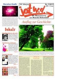 Ausgabe 7- 2013 - jotwede-online.de