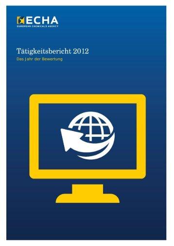 General Report 2012_final - ECHA - Europa