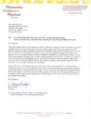Literacy Environments - Minnesota State Legislature