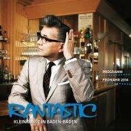 Das Frühjahrsprogramm 2014 zum Download... - Rantastic