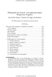 Bibliographie der deutsch- und englischsprachigen Wittgenstein ...