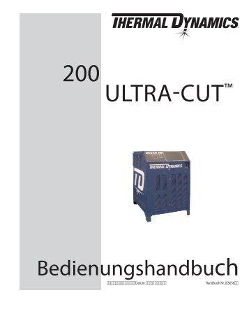 200 ULTRA-CUT™ - Victor Technologies