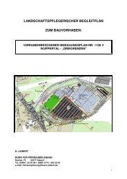 Landschaftspflegerischer Begleitplan - Stand ... - Stadt Wuppertal