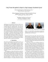 Using Viseme Recognition to Improve a Sign Language Translation ...